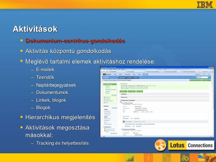 Offline aktivitás-kezelés Lotus Notes 8.5-ben