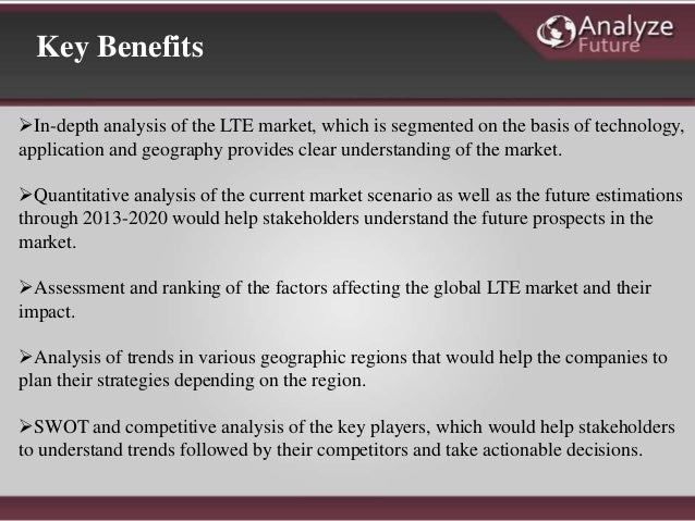 lte in industry verticals market opportunities The lte, lte-advanced & 5g ecosystem: 2016 – 2030 – infrastructure, devices, operator services, verticals, strategies & forecasts is a market research report.