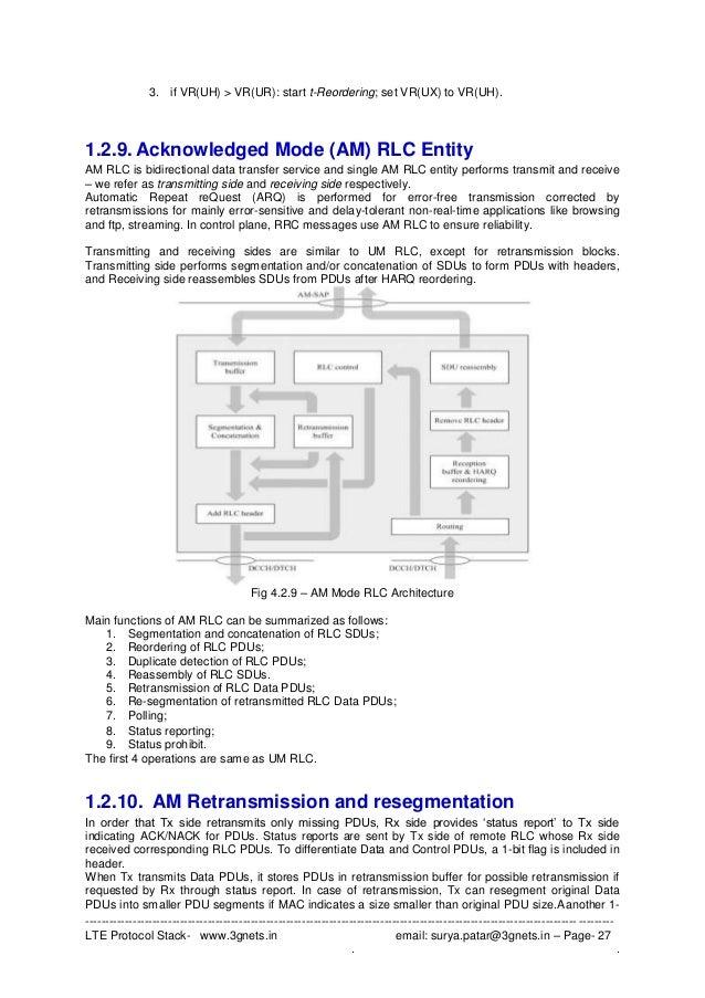 lte protocol testing resume