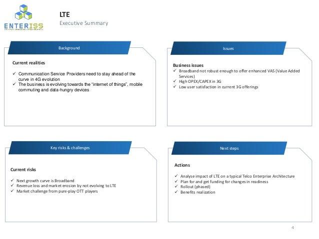 Lte impact on telco architecture for Architecture lte