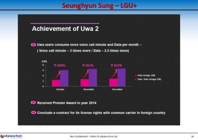 Seunghyun Sung – LGU+ Non Confidential – Public © eXplanoTech Ltd. 18