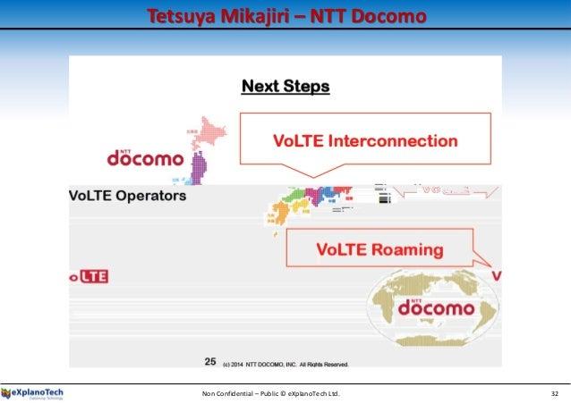 Tetsuya Mikajiri – NTT Docomo Non Confidential – Public © eXplanoTech Ltd. 32