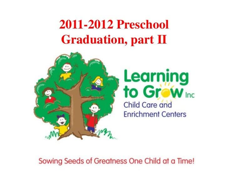 2011-2012 PreschoolGraduation, part II