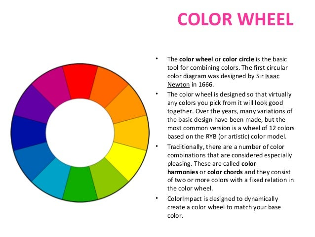 Color Theory Color Wheel color theory