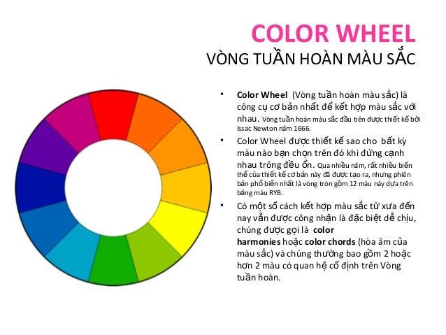 Lý thuyết về màu sắc  color theory- bản tiếng việt Slide 2