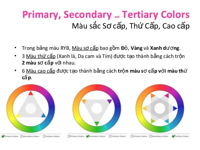Lý thuyết về màu sắc  color theory- bản tiếng việt Slide 3