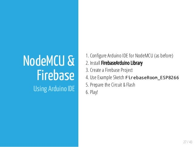NodeMCU with Blynk and Firebase