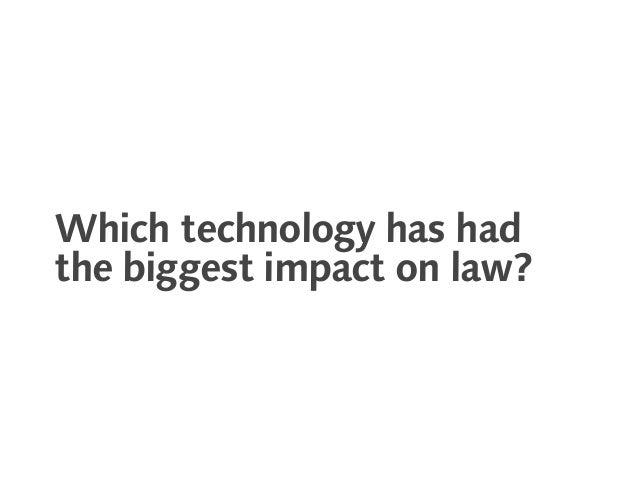 What is legal technology? Slide 2