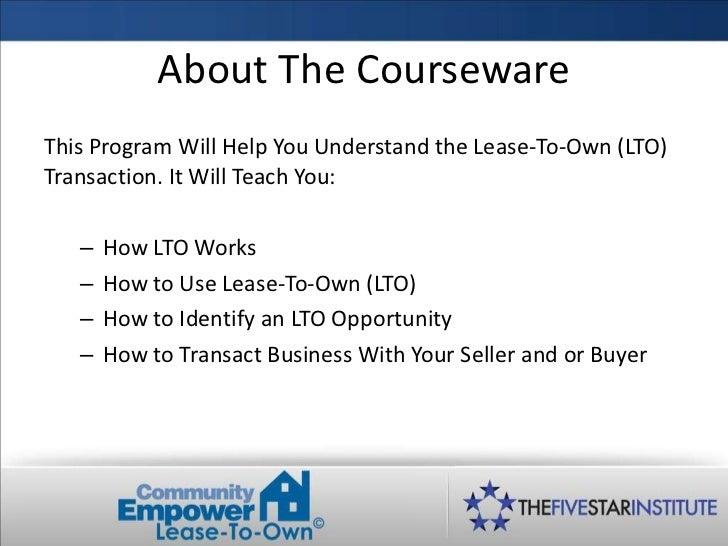 Lto training course modified Slide 2