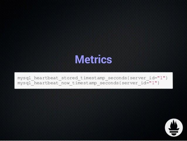 Monitoring MySQL Replication lag with Prometheus & pt-heartbeat