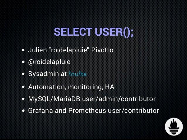 Monitoring MySQL Replication lag with Prometheus & pt-heartbeat Slide 2