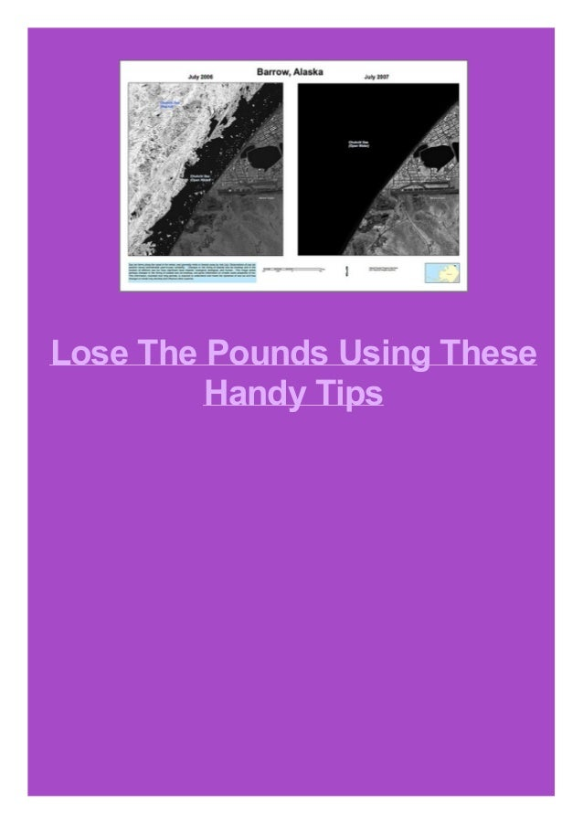 Lose The Pounds Using These Handy Tips