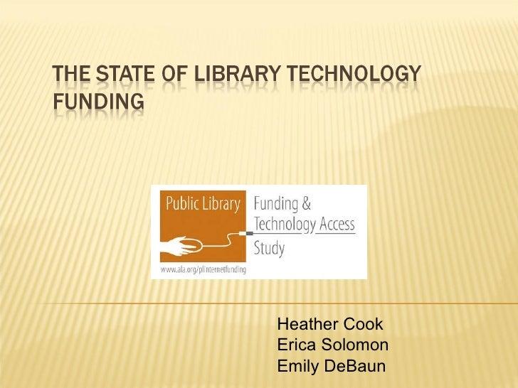 Heather Cook Erica Solomon Emily DeBaun