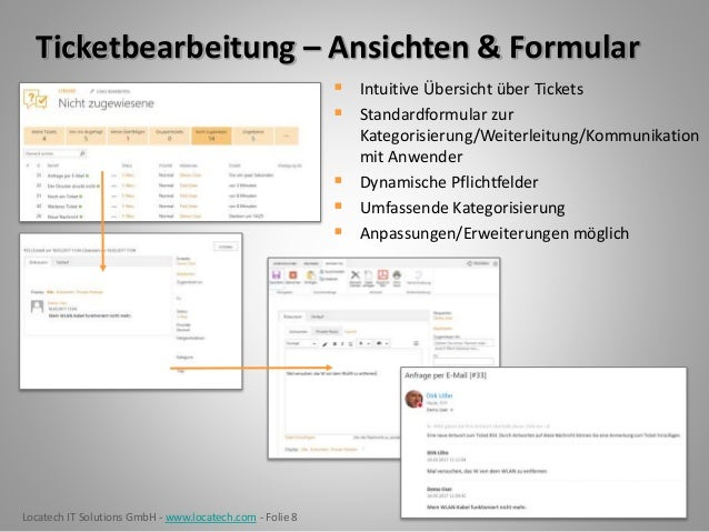 LTRS365 - Ticketsystem Servicedesk Helpdesk für Office365 & SharePoin…