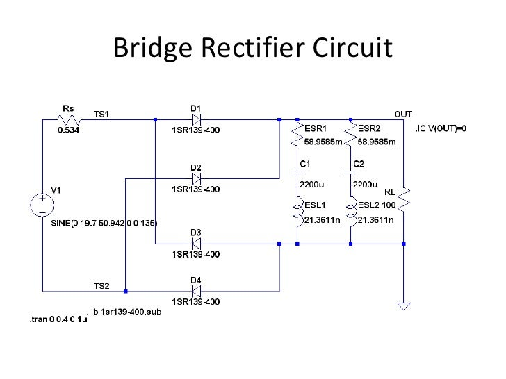 Bridge Rectifier Circuit
