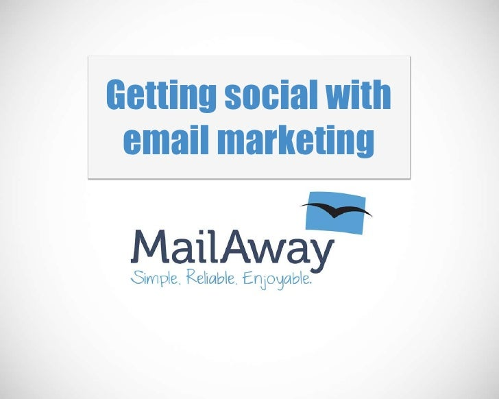Getting social with email marketing