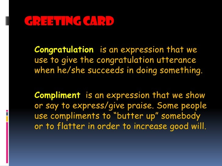 Ltt ptt lesson greeting card congratulation is an expression m4hsunfo Image collections