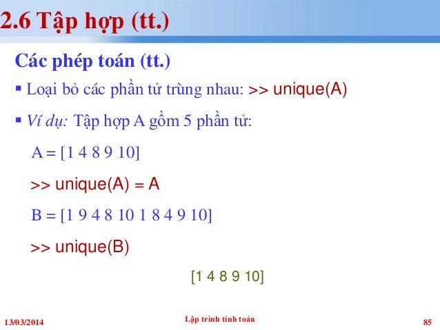 Lttt matlab chuong 2