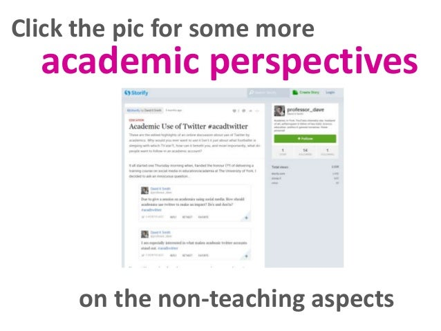 Click the pic for some more  academic perspectives  on the non-teaching aspects