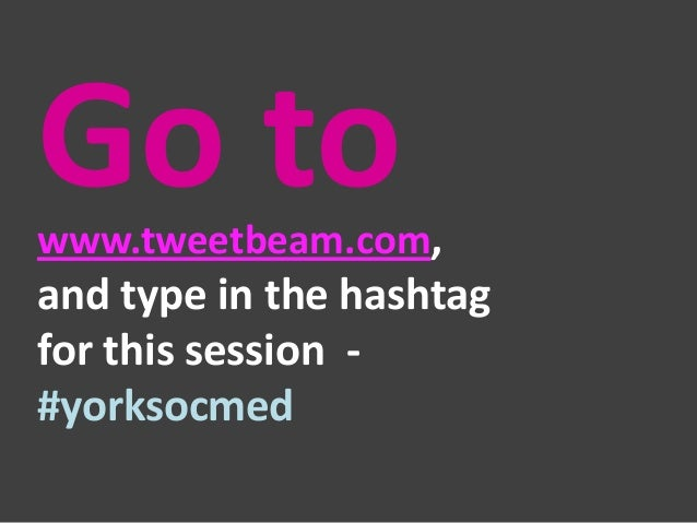 Exercise 3. Embed the #YorkSocMed stream (or anything else you fancy) into a BlackBoard module – follow the instructions o...
