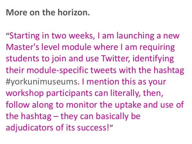 Twitter for research Consider the 1 in 4 rule*  Tweets directly about your work