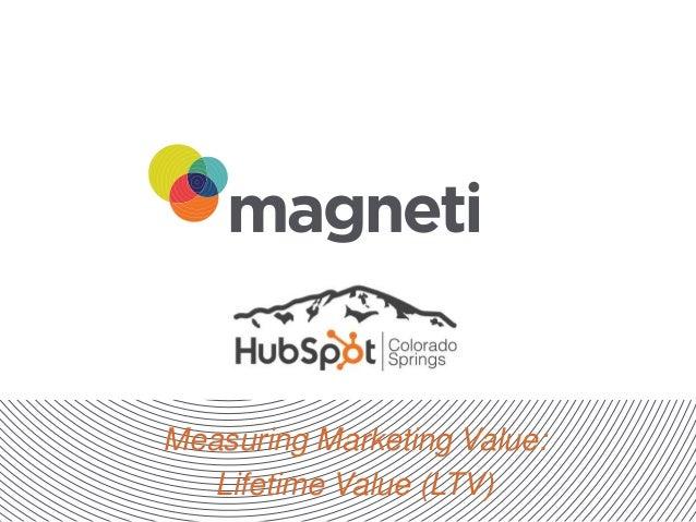 Measuring Marketing Value: Lifetime Value (LTV)