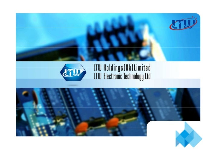 Company ProfileEstablished in the year of 2005, LTW Holdings(HK) Ltd., Co. has developed into a large group  including She...