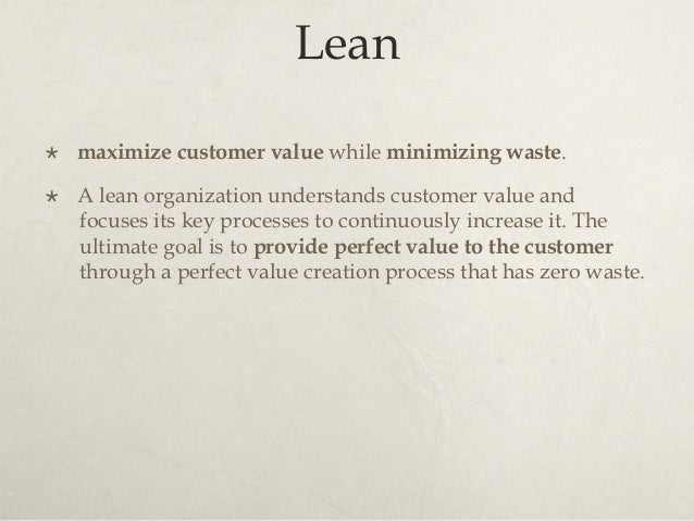 Lean Thinking × Lean thinking changes the focus of management from optimizing separate technologies, assets, and vertical...