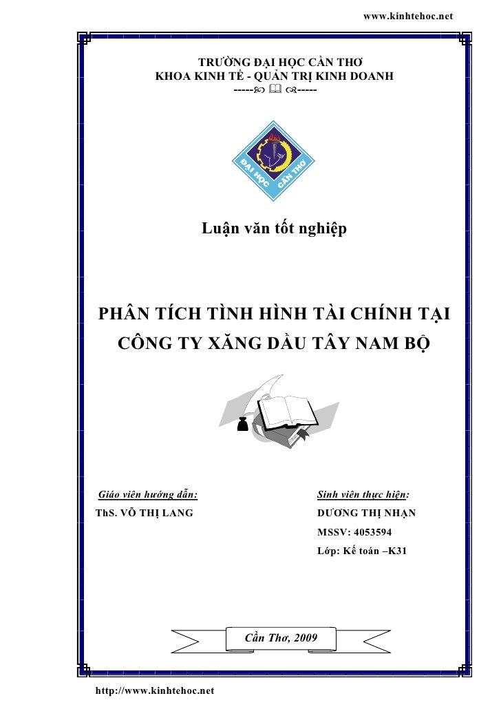 www.kinhtehoc.net                 TRƯỜNG ĐẠI HỌC CẦN THƠ            KHOA KINH TẾ - QUẢN TRỊ KINH DOANH                    ...