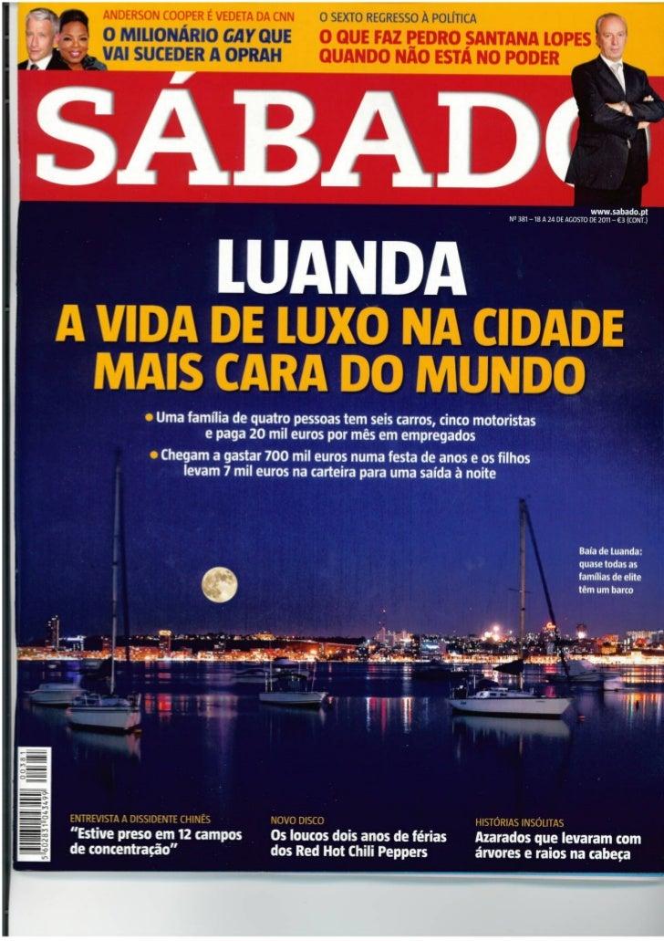 Luanda e o luxo