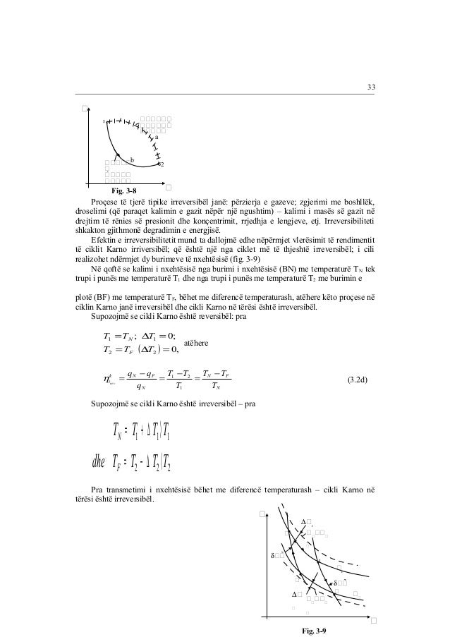 2      °  °                  Fig. 3-8  a  b  Proçese të tjerë tipike irreversibël ja...