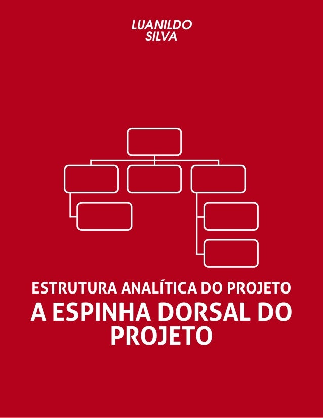 LUANILDO  SILVA  ESTRUTURA ANALÍTICA DO PROJETO  A ESPINHA DORSAL DO  PROJETO