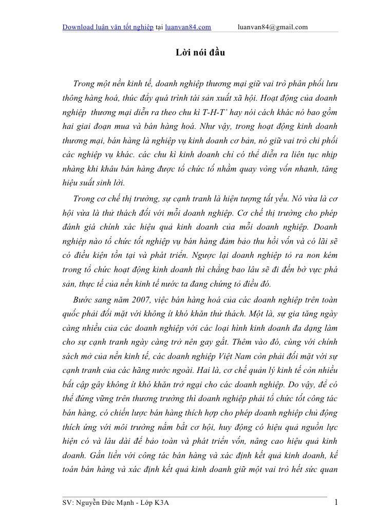 Download luận văn tốt nghiệp tại luanvan84.com   luanvan84@gmail.com                                  Lời nói đầu   Trong ...