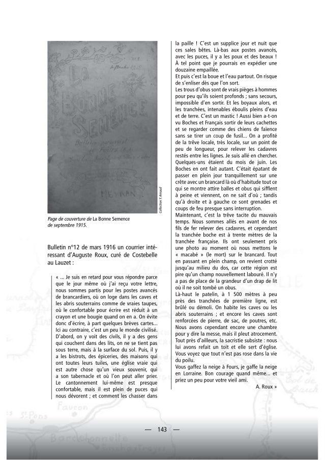 L'ubaye et la guerre de 1914 1918, seconde partie