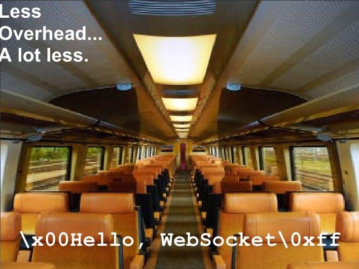 x00Hello, WebSocket0xff Less Overhead... A lot less.