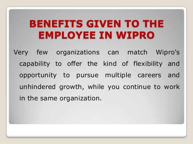 wipro hrm policy 3 the nestlé human resources policy this policy encompasses those guidelines which constitute a sound basis for efficient and effective hr management in the nestl.