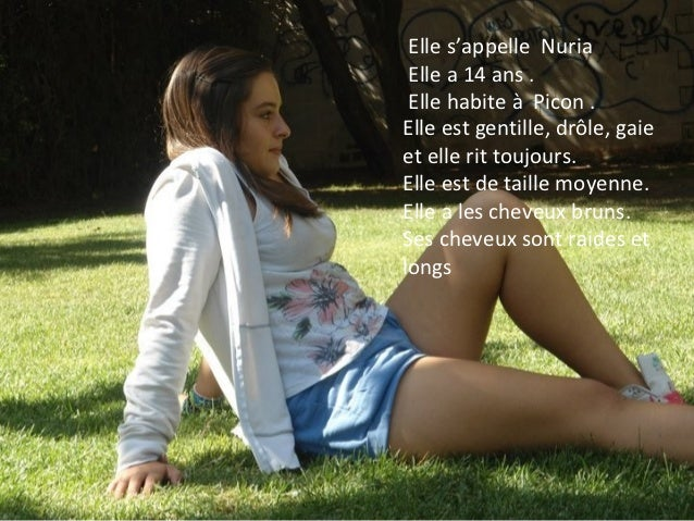 Lucía présente Nuria Slide 2