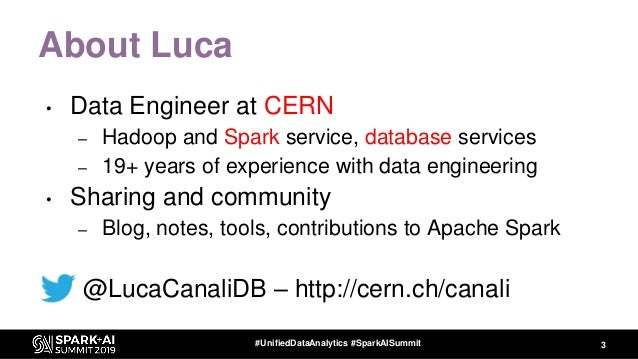 Performance Troubleshooting Using Apache Spark Metrics Slide 3