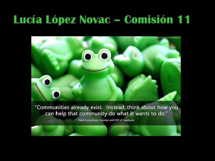 Lucía López Novac – Comisión 11
