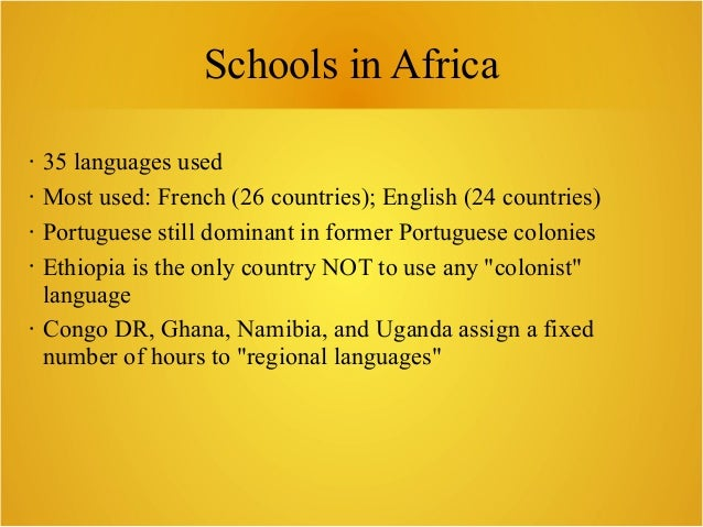 Luca Martinelli - Wikipedia and African languages used in primary education Slide 3