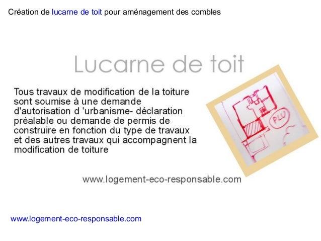 Lucarne de toit for Type de lucarne de toit
