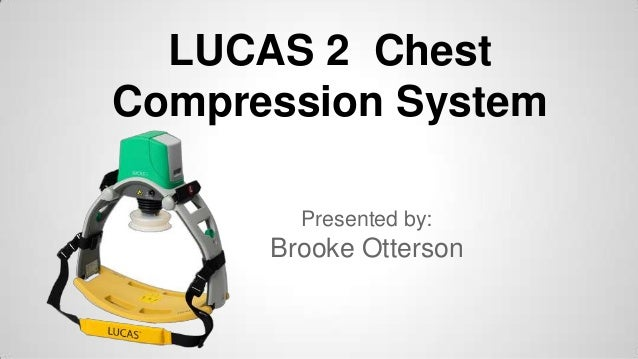 LUCAS 2 Chest Compression System | 99576-000011 made by ...