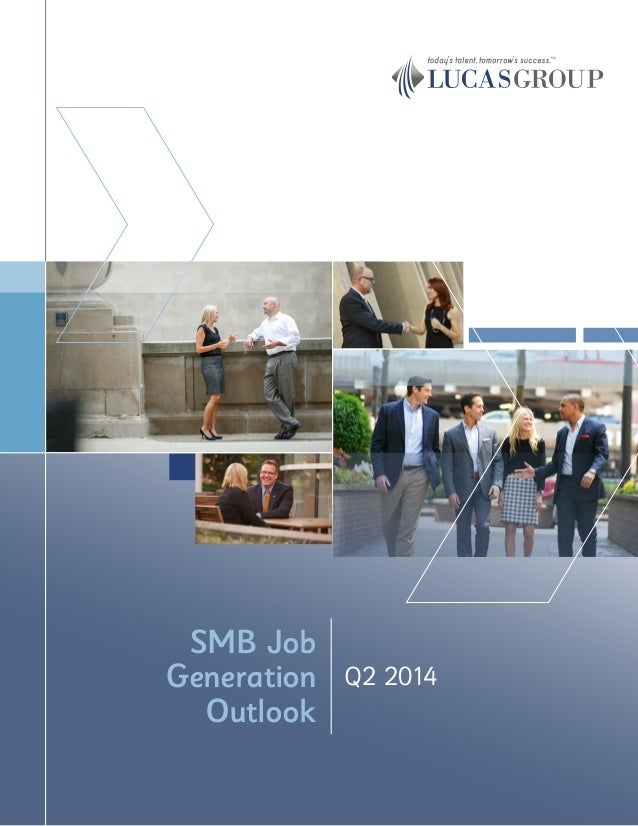 Q2 2014 SMB Job Generation Outlook