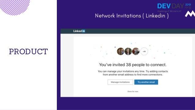 PRODUCT Network Invitations ( Linkedin )