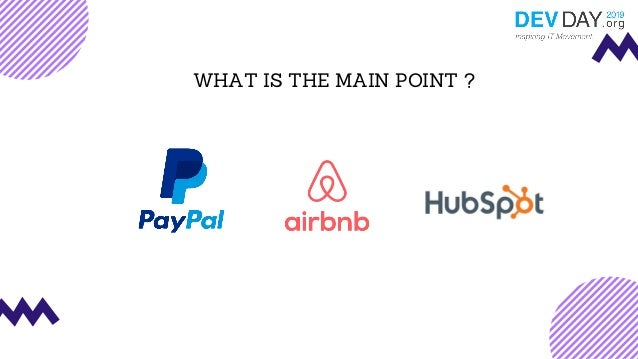 WHAT IS THE MAIN POINT ?