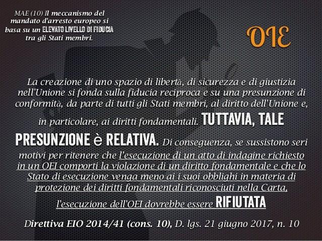 Ma e attiv oitalian o IN ABSENTIA   CGUE Melloni 2013 vs. BVerfG Solange III 2015 TRATTAMENTO INUMANO Aranyosi Caldararu 2...