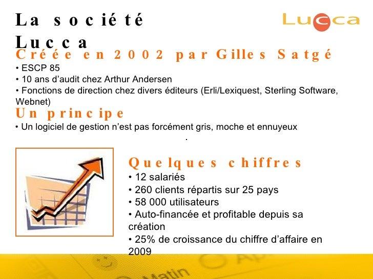 Créée en 2002 par Gilles Satgé •  ESCP 85 •  10 ans d'audit chez Arthur Andersen •  Fonctions de direction chez divers édi...