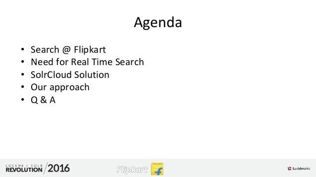 Near RealTime search @Flipkart Slide 3