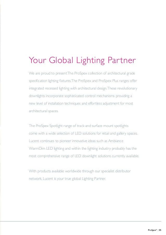 lucent prospex  catalogue 2015 distribuidor en espa u00f1a