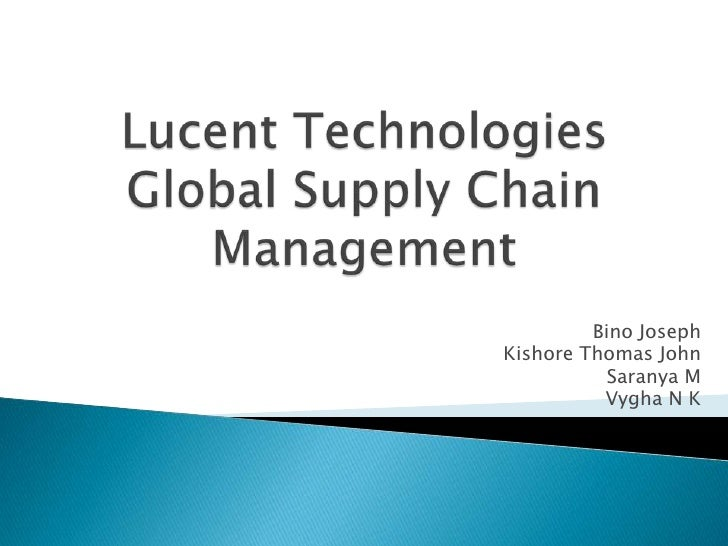 lucent technology case Full-text paper (pdf): earnings management: the case of lucent technologies earnings management: the case of lucent technologies.